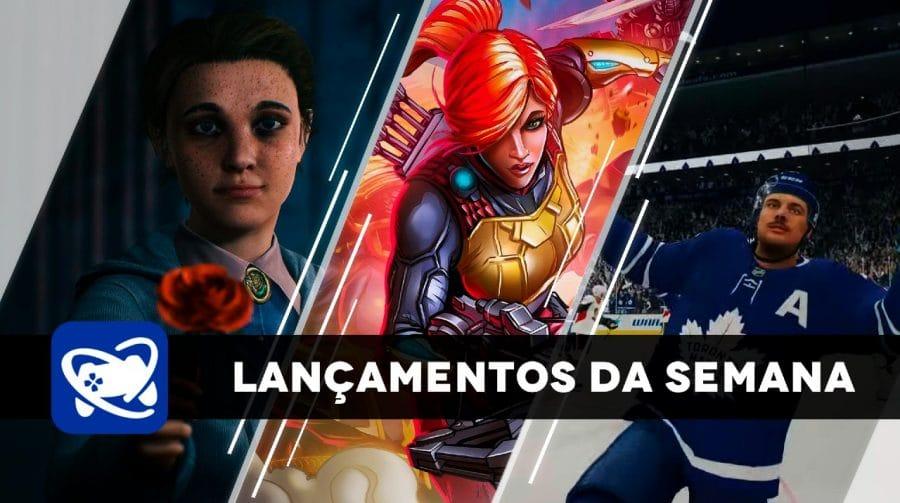 Confira os lançamentos da semana (13/10 a 16/10) para PlayStation 4