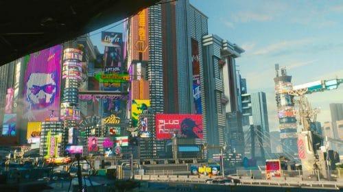 Vaza mapa de Cyberpunk 2077, e o tamanho é gigantesco