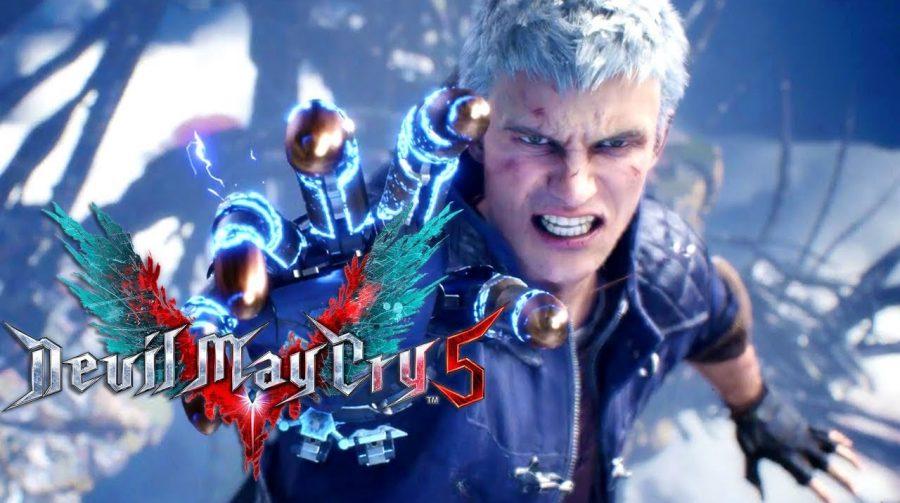 Devil May Cry 5 no PS5 demora 5 segundos para carregar