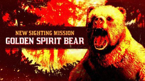 Missão de Red Dead Online faz jogadores caçarem o Urso-espírito-dourado