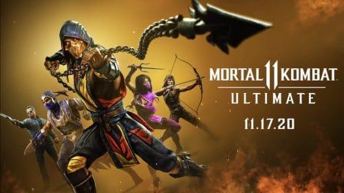 Mortal Kombat 11 Ultimate é anunciado para PlayStation 5