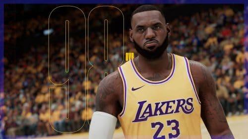 Ratings de NBA 2K21 para o PS5 são divulgados