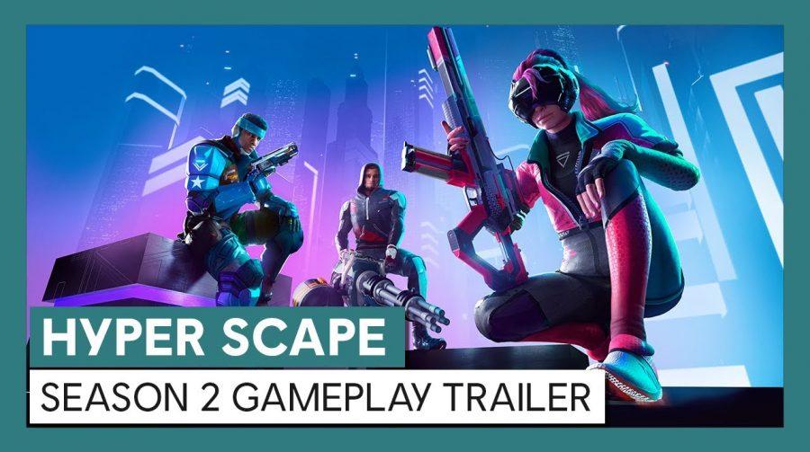 Nova temporada de Hyper Scape estreará em 6 de outubro
