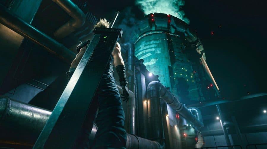 Trailer faz comparação gráfica de Final Fantasy VII Remake no PS4 e no PS5