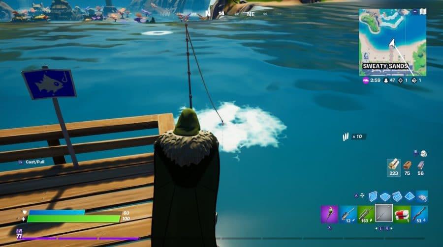 Veja onde encontrar os peixes lendários de Fortnite: Capítulo 2