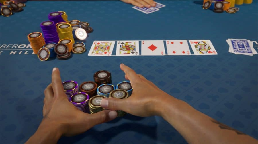 Straight Flush! Com upgrade gratuito, Poker Club chega na estreia do PS5 no Brasil
