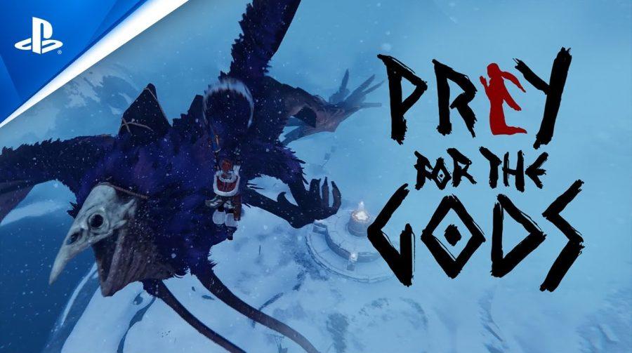 Com upgrade gratuito, Praey for the Gods chegará ao PS4 e PS5 no começo de 2021