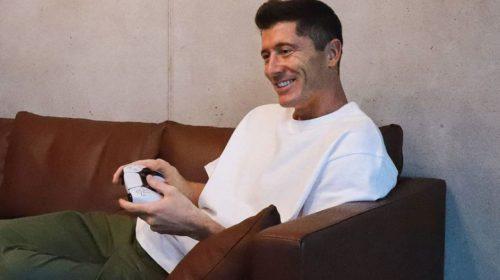 Máquina de gols do Bayern, Robert Lewandowski já tem um PS5