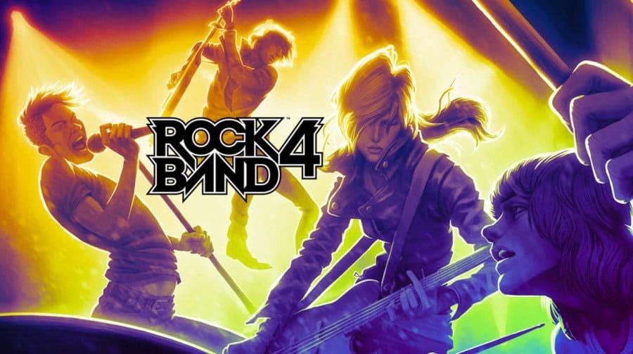 Solta o som! Rock Band 4 e seus controles instrumentais serão compatíveis com o PS5