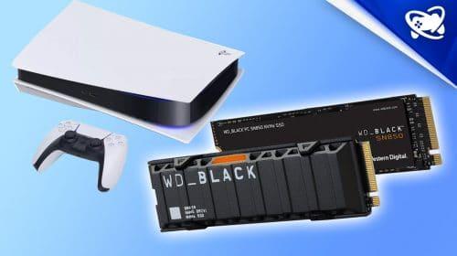 Veja os requisitos para escolher o modelo de SSD correto para o PS5