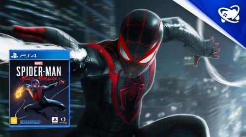 Spider-Man Miles Morales de PS4 entra em pré-venda no Brasil
