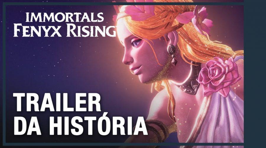Novo trailer de Immortals Fenyx Rising foca na história do jogo; assista gameplays