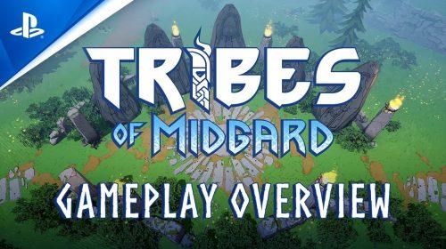 Gearbox libera gameplay de Tribes of Midgard, RPG de PS5 e PC