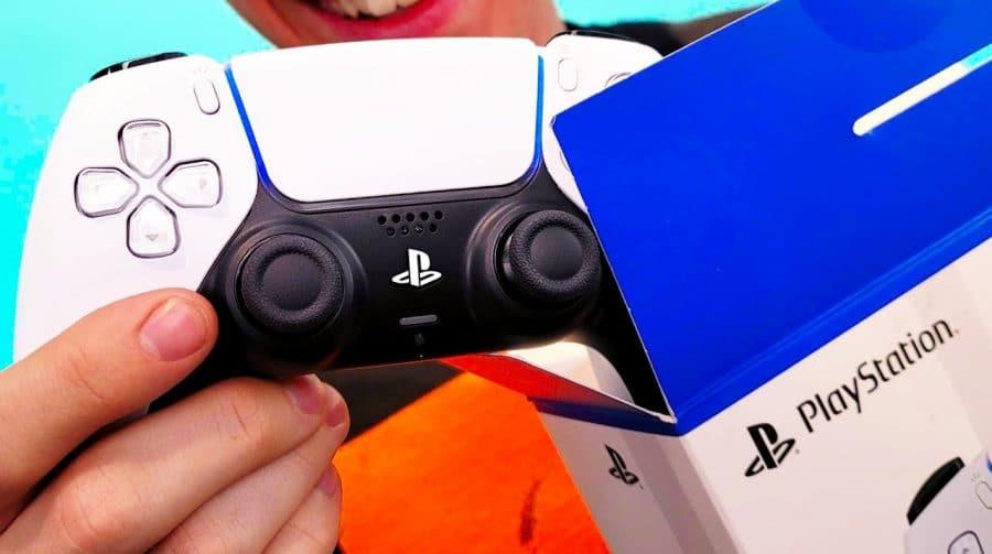 Primeiro unboxing do DualSense mostra detalhes do controle