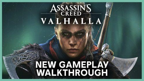 Novo gameplay de Assassin's Creed Valhalla traz muitos detalhes