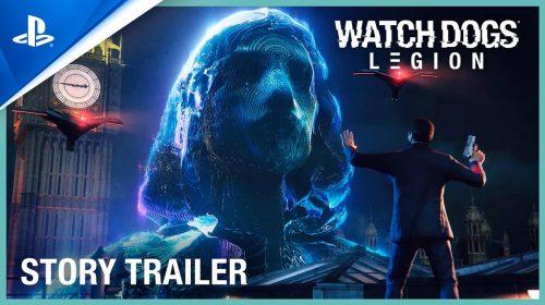 Trailer de história de Watch Dogs Legion mostra mais da rebelião tecnológica