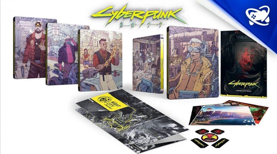 AGORA VAI! Cyberpunk 2077 chega dia 10; edição limitada esgotando!