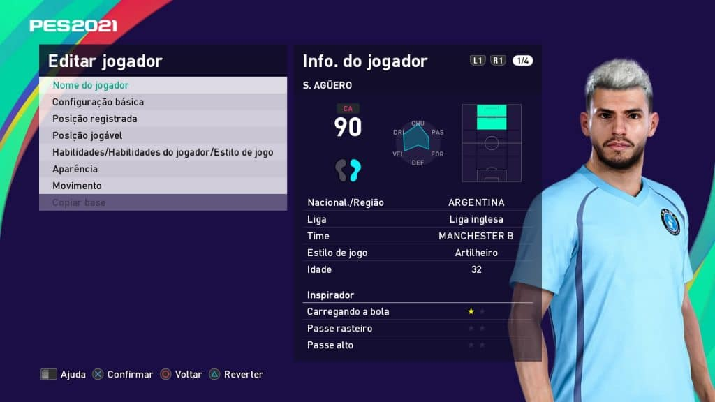 eFootball PES 2021 - Manchester City