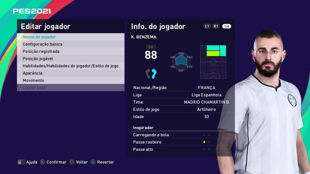 eFootball PES 2021 - Real Madrid