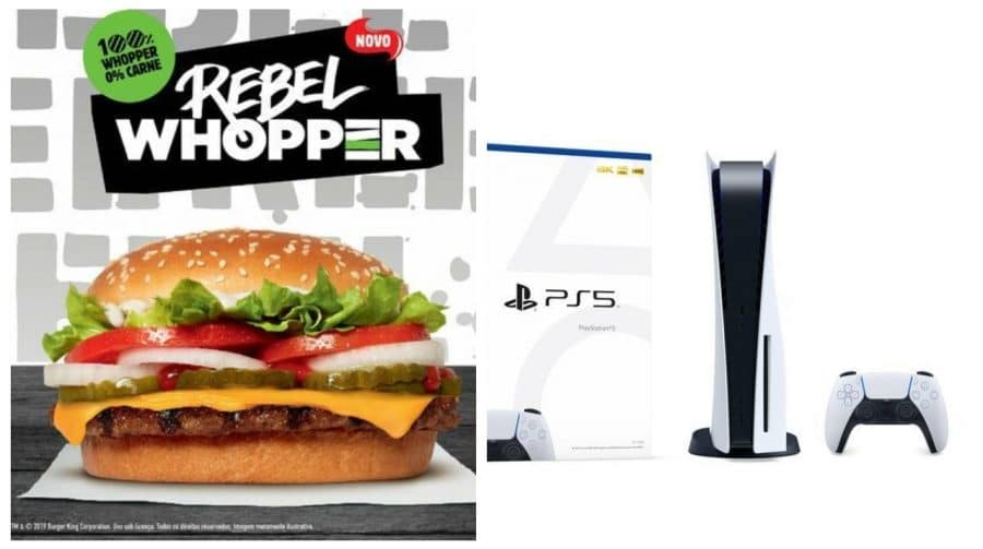 Burger King e Sony lançam teaser sobre interface do PS5