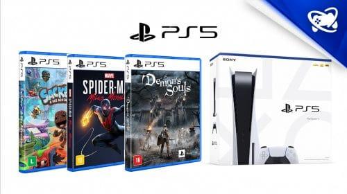 Baixou: Amazon oferece jogos de PS5 com descontos!