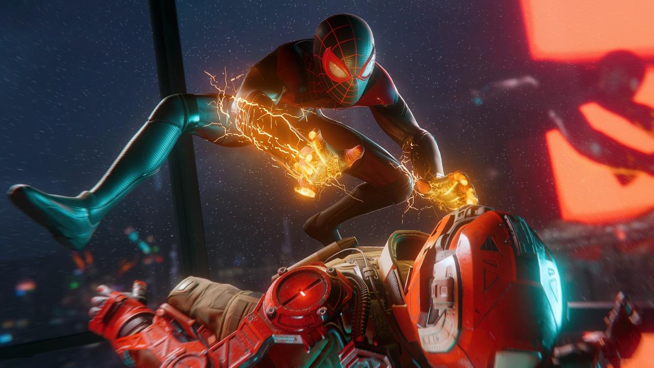 Gameplay de Spider-Man Miles Morales Morales