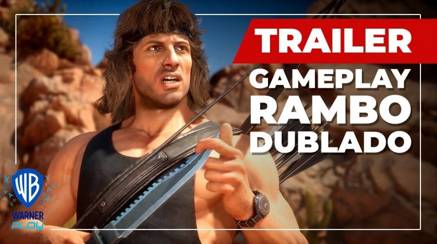 Fatality! Trailer mostra toda brutalidade do Rambo em Mortal Kombat 11