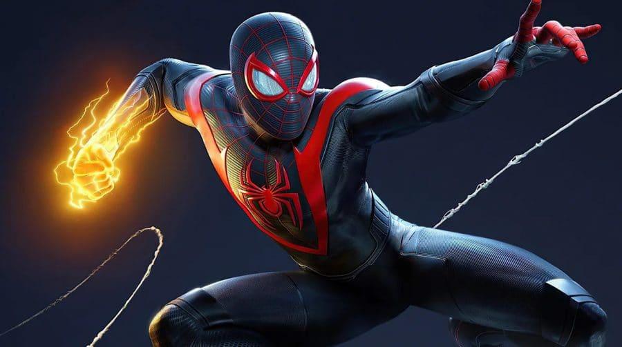 Spider-Man Miles Morales vendeu 663.000 cópias digitais em novembro