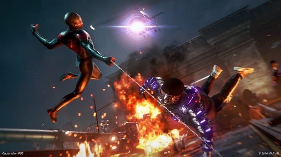 Revelado o primeiro chefão de Marvel's Spider-Man: Miles Morales