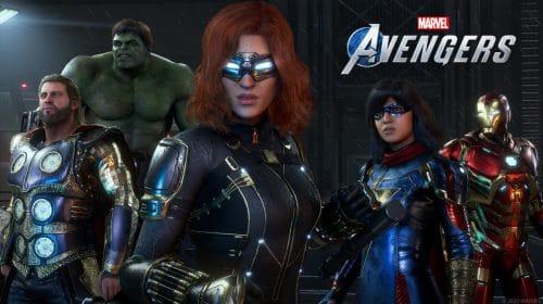 Marvel's Avengers é o segundo maior lançamento digital da história da Square Enix