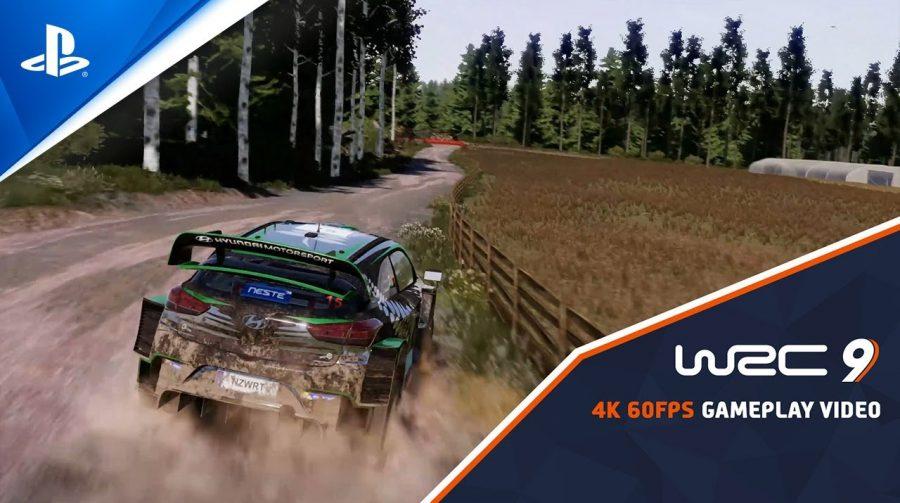 WRC 9 no PS5: novo trailer destaca as melhorias na nova geração