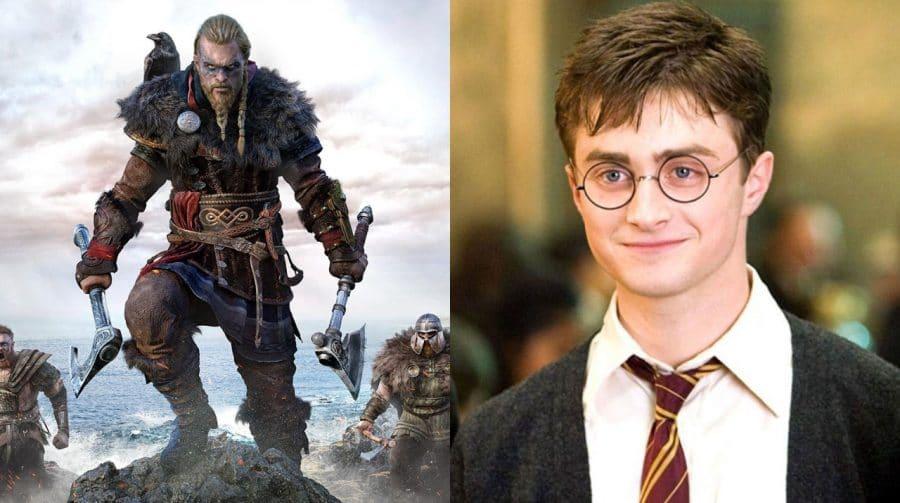 Assassin's Creed Valhalla tem referências escondidas à saga Harry Potter