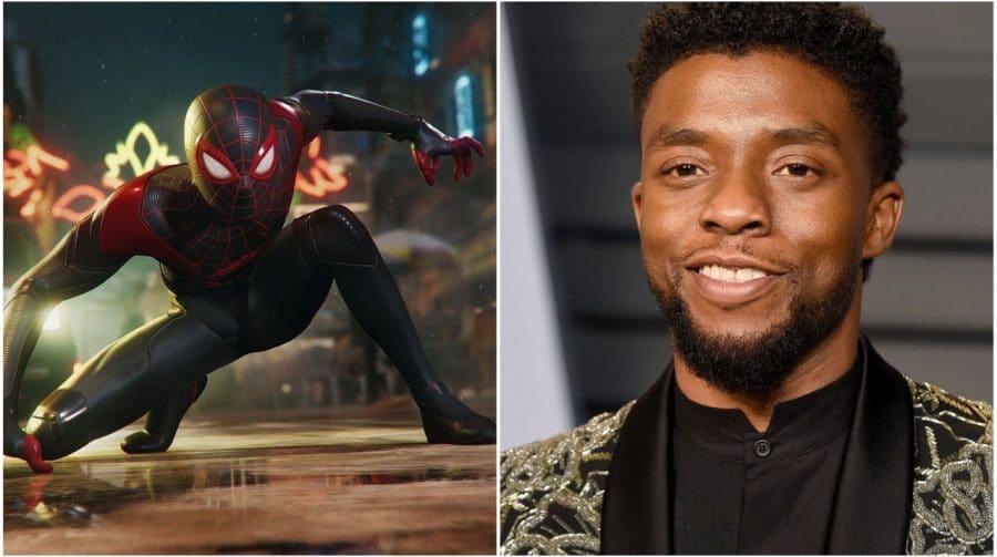 Spider-Man Miles Morales tem tributo a ator de Pantera Negra