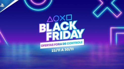 Black Friday da PlayStation: confira todos os descontos!
