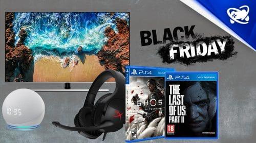 Black Friday dos Games: veja quais são os melhores descontos jogos e acessórios!