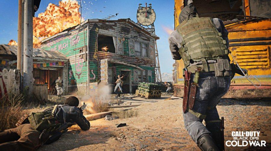Bug em Black Ops Cold War leva jogadores para fora do mapa Nuketown '84