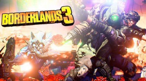 Borderlands 3 no PS5 supostamente roda a 120FPS no modo performance