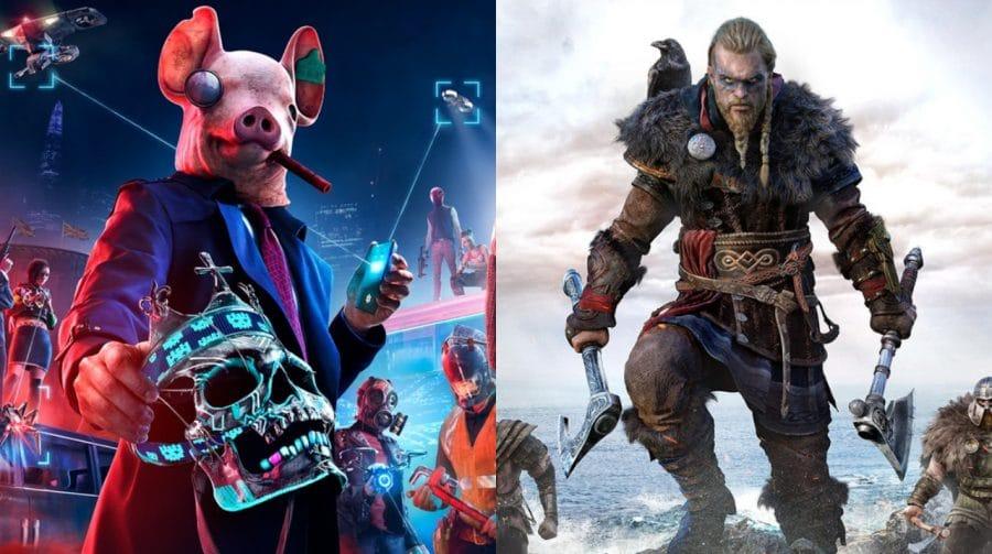Ubisoft investiga problema de upgrade para PS5 do Assassin's Creed Valhalla e Watch Dogs Legion