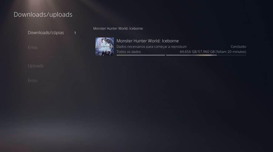 Sony mostra passo a passo de como corrigir bug da fila de download do PS5