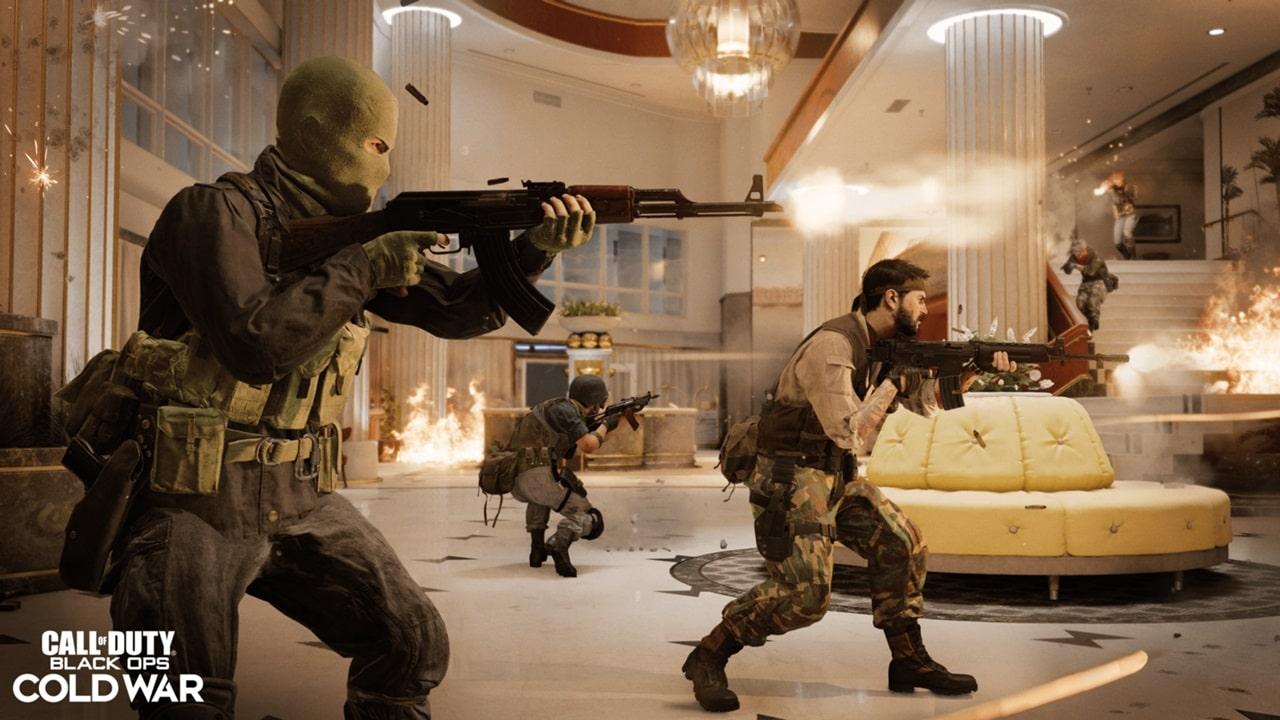 nerf em Call of Duty Black Ops Cold War
