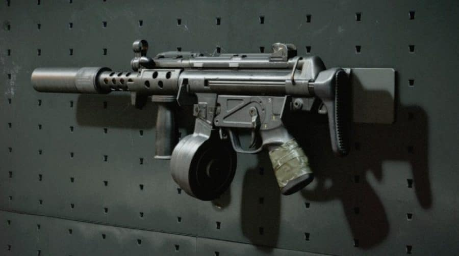 MP5 de Call of Duty Black Ops Cold War está muito poderosa