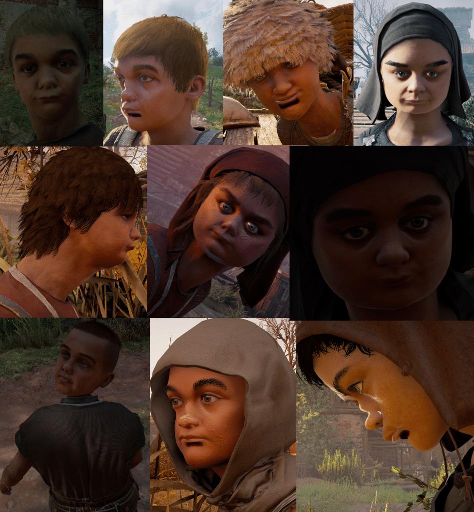 Crianças de Assassin's Creed Valhalla