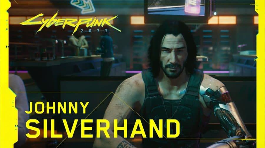 De tirar o fôlego! Novo trailer de Cyberpunk 2077 destaca Johnny Silverhand