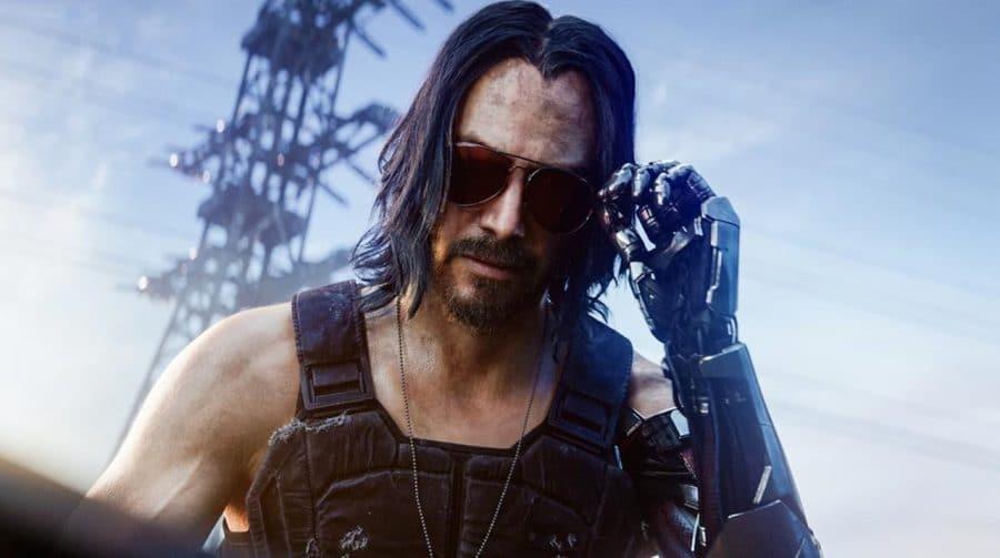 Keanu Reeves jogou e virou fã de Cyberpunk 2077, diz CD Projekt RED