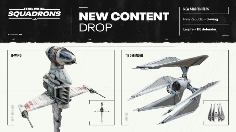 Star Wars Squadrons: segundo update pós-lançamento está disponível