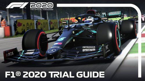 F1 2020 tem teste gratuito sem data para terminar