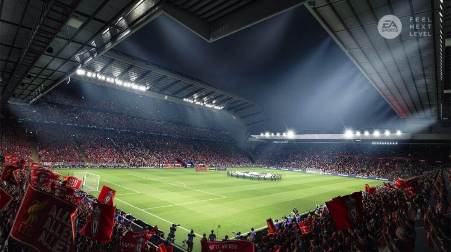 EA Sports mostra ambientação de FIFA 21 no PS5