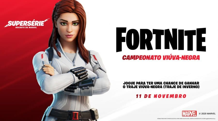 Viúva Negra chega ao Fortnite em novo campeonato