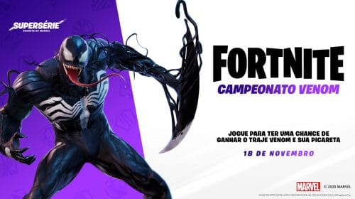 Como conseguir a skin do Venom em Fortnite gratuitamente
