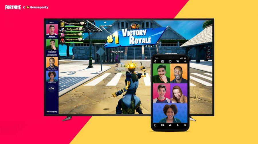Fortnite terá integração com aplicativo Houseparty para chamadas de vídeo